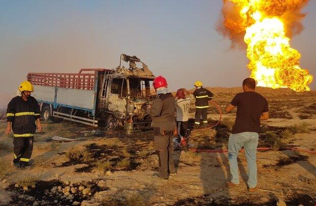 petrol patlaması