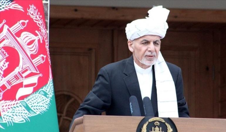 Afganistan Cumhurbaşkanı Gani