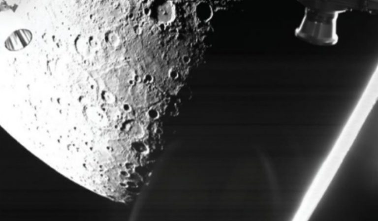 Merkür'ün ilk fotoğrafları Dünya'ya gönderildi